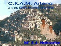 2°Stage Regionale Karate Shotokan